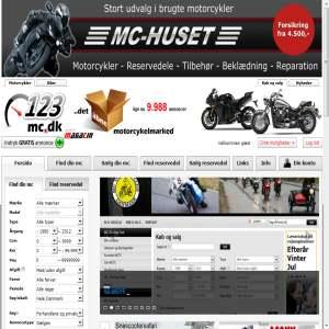 123mc.dk - det �bne motorcykelmarked