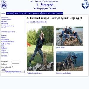 1. Birkerød Gruppe, Det Danske Spejderkorps