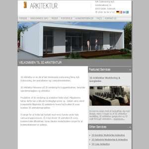 3D animation og arkitektur