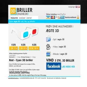 3DbrillerOnline.dk
