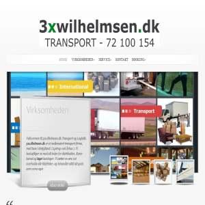 3xwilhelmsen.dk - Transport & Logistik