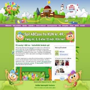 ABCzoo - børnespil for de mindste