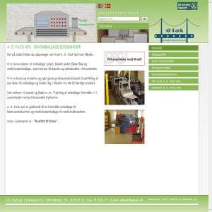 A. D. Pack ApS - Din emballage leverandør