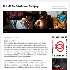 Afrika NU! - Folkekirkens N�dhj�lp