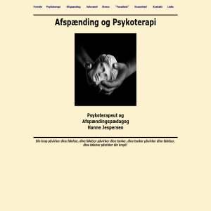 Afsp�nding og Psykoterapi
