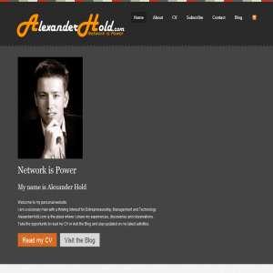 AlexanderHold.com Network is Power
