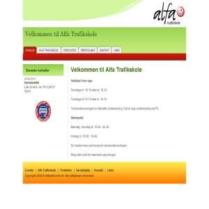 AlfaTrafikskole.dk