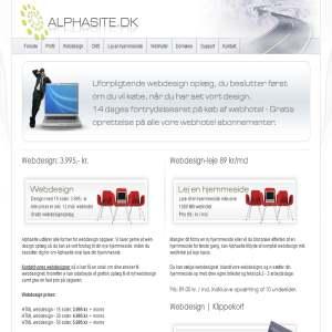 Alphasite webdesign & webhotel