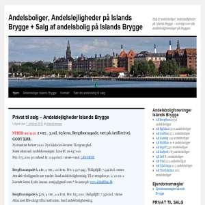 Andelsboliger Islands Brygge