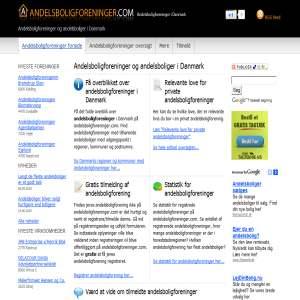Andelsboligforeninger i Danmark