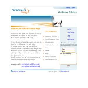 Andrewscom Webdesign