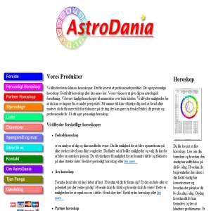 Horoskop hos astrodania.dk