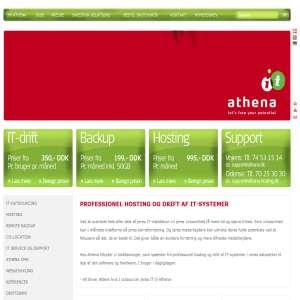 Athena IT-Group - Professionel hosting og drift af IT-systemer
