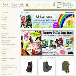 BabyGear.dk - udstyr til børn på tur