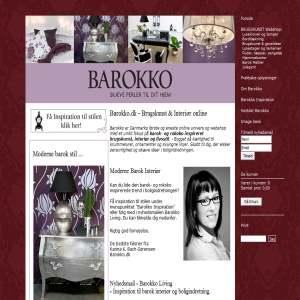Barokko.dk – Brugskunst i barok inspireret stil