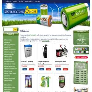 BatteryStore - Batterier