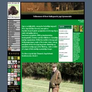Ballegaards Jagt hjemmeside