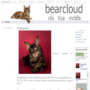 Bearcloud Maine Coon Cats