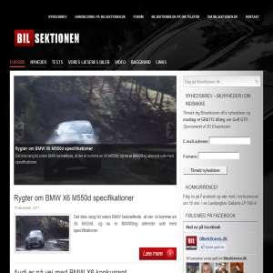 Bilsektionen.dk - Dit online bilmagasin!