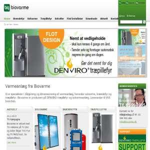 Biovarme.dk - Komplette solvarmeanlæg