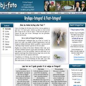 Bryllupsfotografering - Festfotografering - Find fotografen her