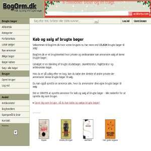 Bogorm.dk - Køb brugte bøger