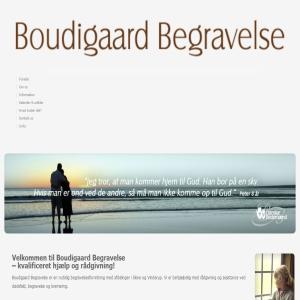 Boudigaard Begravelse