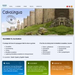 Oversættelse : CalvoLingua