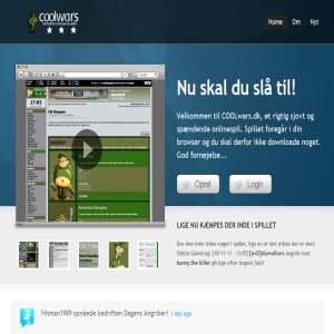CoolWars.dk - Det fedeste onlinespil p� nettet!