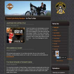 Custom Cycle Harley-Davidson