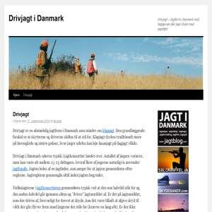 Drivjagt i Danmark - Jagt
