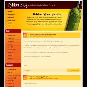 Blog om Dykning - Online Dykker Log