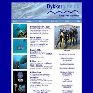 Dykkergitte - din professionelle dykkerskole