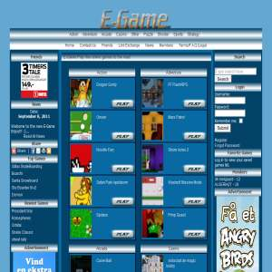 E-game | Flash Spil