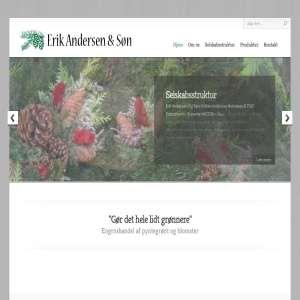 Erik Andersen & Søn - Engroshandel af pyntegrønt og blomster