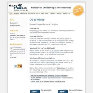EasyPage CMS & Webshop