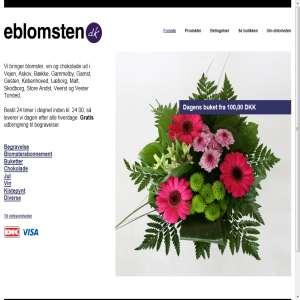 eblomsten.dk