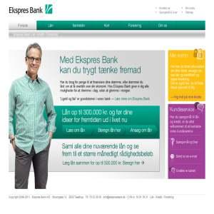 Ekspres Bank - Få et nyt lån