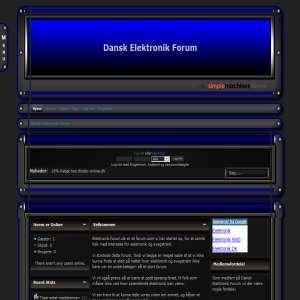 Dansk Elektronik Forum