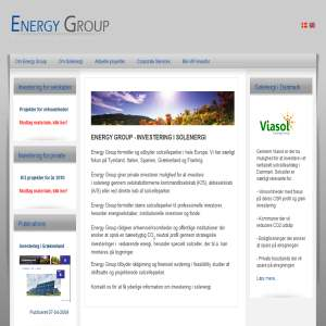 Energy Group -  investerer i solcelleparker