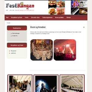 Festkongen firmafest og event