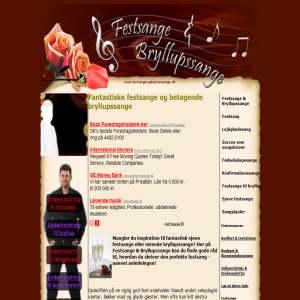 Festsange & Bryllupssange