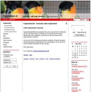 Fuglehandel.dk