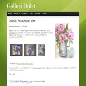 Akvarel hos Galleri Holst