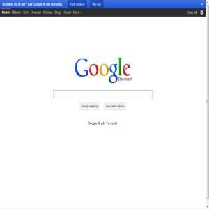 Google s�gemaskine | Google.dk