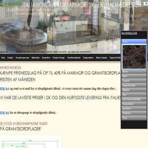 Gramar Italiano - Alt i granit & marmor