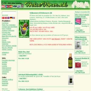 Online handel pleje helse