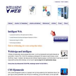 Intelligent Web - CMS hjemmesider, Webdesign, Webshops
