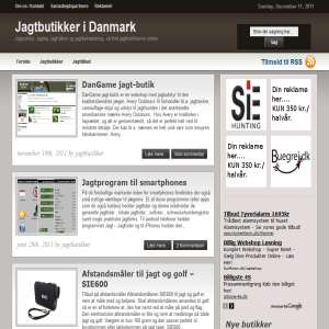 Jagtbutikker i hele Danmark