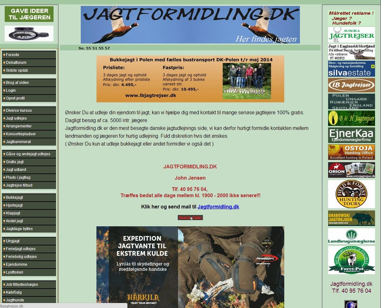 Jagtformidling.dk